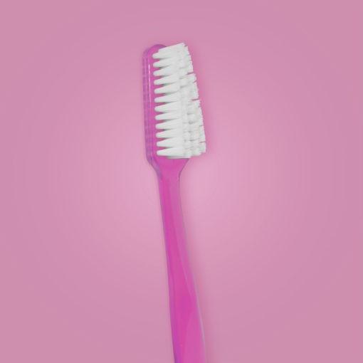 cepillo dental 3663 mango color rosa