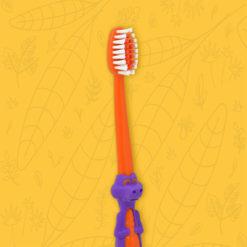 perspectiva cepillo dental infantil Coco